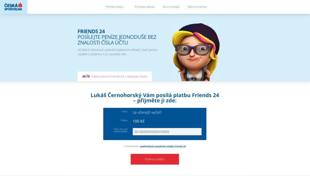 Friends24 - webová služba