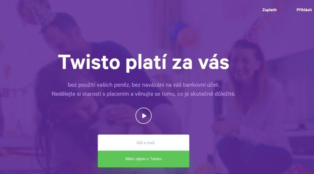 twisto-login-page