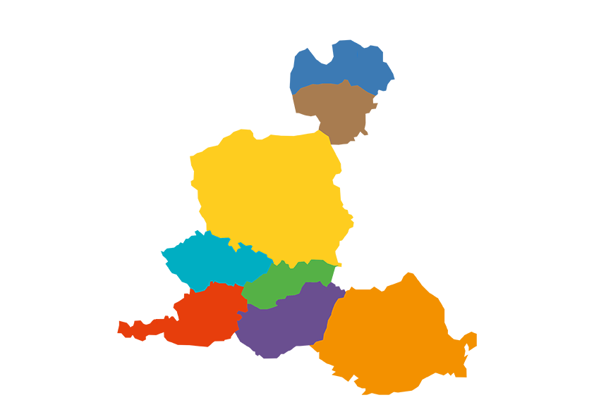 centrální evropa