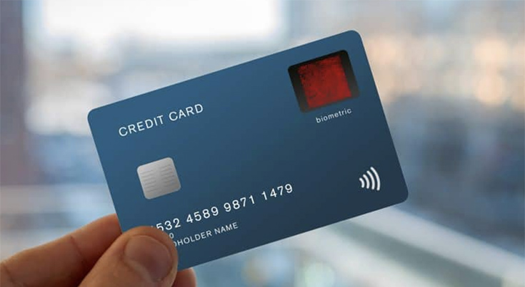 fingerprints biometric card