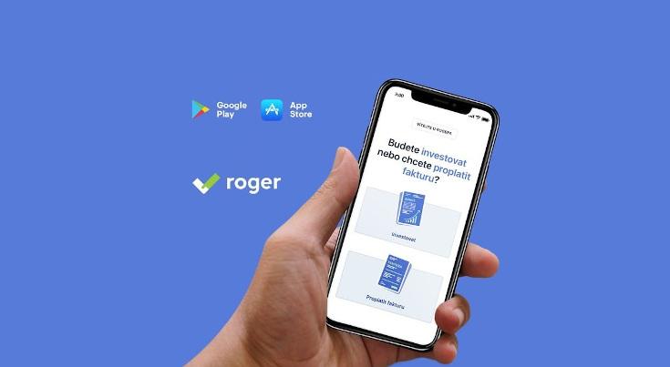 Roger mobilní aplikace